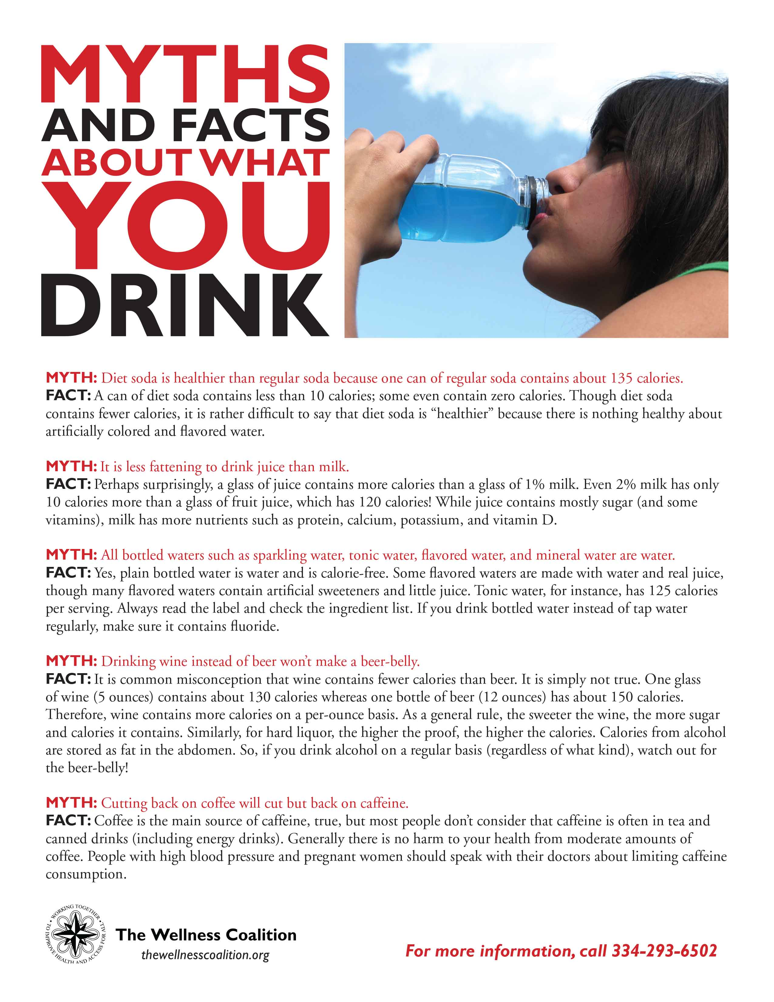 Myths and Facts about What You Drink