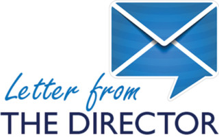 letter from the director mail icon